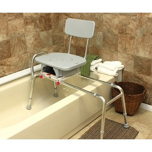 Bathroom Tub Transfer Bench With Cut Out