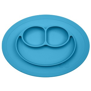 Happy Mini Mat Non Slip Divided Plate