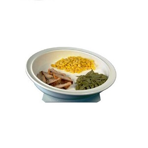 Freedom Scoop Plate with Suction Pad Base