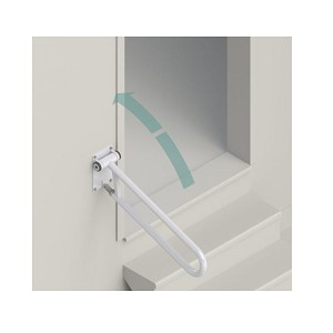HealthCraft PT Rail Angled Safety Grab Bar
