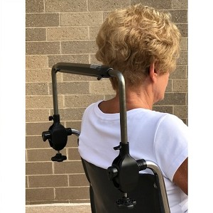 Easy Wheelchair Push Bar Tall