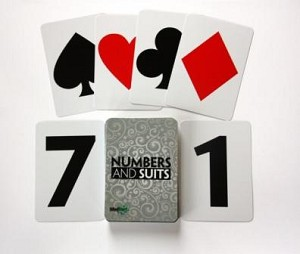 MindStart Easy Numbers & Suits Card Game