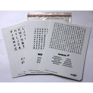MindStart Easy Word Search Puzzle Set