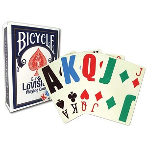 Bicycle EZ See Lo Vision Playing Cards