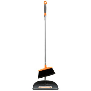 Long Handled Dust Pan & Broom with Ergo Handle - Discontinued