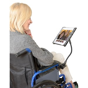 Delta Tablet Holder with Flexible Arm