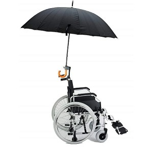 Dry&Go Wheelchair Umbrella Holder - Discontinued
