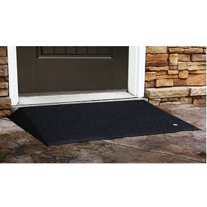EZ Access 2.5 inch Beveled Rubber Threshold Ramp