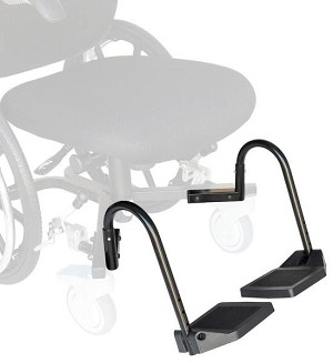 Revo 360 Slim Daily Living Wheelchair Foot Plates
