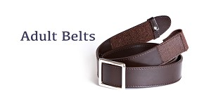 Myself Belts Adult Brown Belts - Discontinued