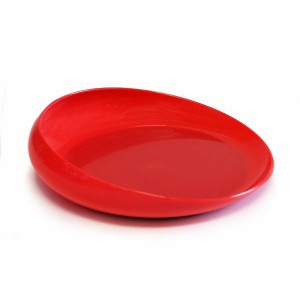 Non Skid Scoopy Scoop Dish :: Red