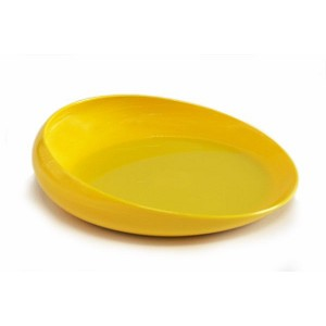 Non Skid Scoopy Scoop Dish :: Yellow