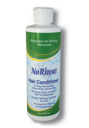 Case of 12 No Rinse Hair Conditioner 8 oz bottles