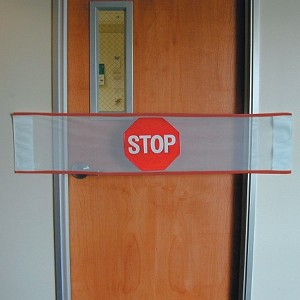 Posey Stop Guard Banner