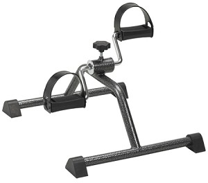 CanDo Assembled Pedal Exerciser is a perfect alternative to a traditional stationary bike, to improve circulation, muscle strength, joint range of motion, and coordination.
