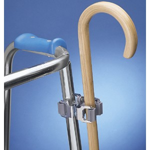Walker and Wheelchair Clip Cane Holder