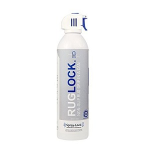 Ruglock Non Slip Spray 16 Oz Aerosol Coating Provides A Permanent Backing To Keep Rugs In Place
